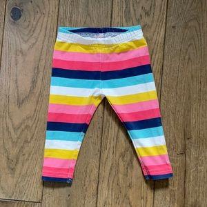 Striped baby pants leggings